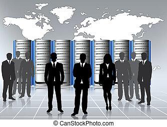 web hosting admin