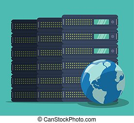 Web hosting design.
