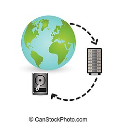 Web hosting planet design