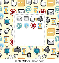 web icon card