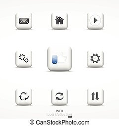 Web icon collection.