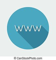 Web icon - Thin series