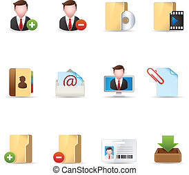 Web Icons - Group collaboration 2