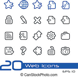 Web Icons // Line Series