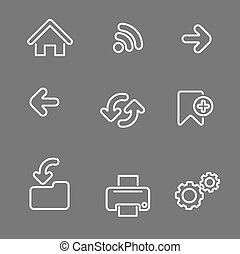 web icons linear