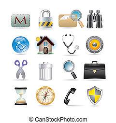web icons set - Icons set for web applications