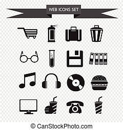 web icons Set illustration