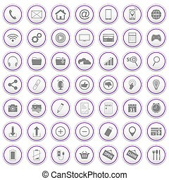 Web icons set.