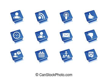 Web Icons Set - Vector web icons set design.