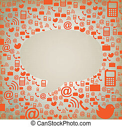 web Ideas over beige background ,vector, illustration
