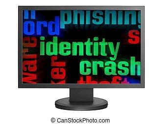 Web identity concept