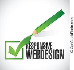 web, illustratie, mark, ontwerp, ontvankelijk, controleren
