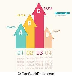 web, infographic, elementi