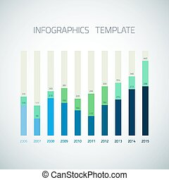 Web Infographic Timeline bar Template Layout could be used for w