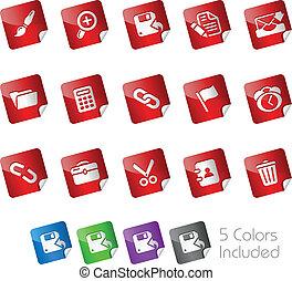 Web Interface / Stickers