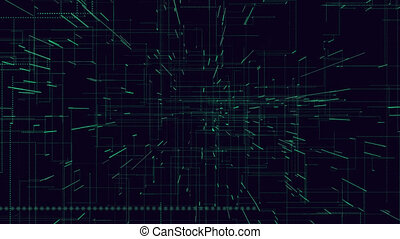 Web, interner, digital lines, worldwide network, abstract