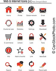 Web & Internet icons set 01