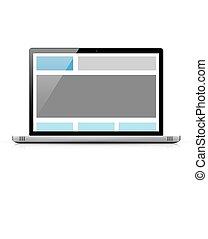 web, kodierung, begriff, interessiert, html