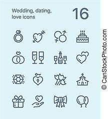 web, liebe, grobdarstellung, heiligenbilder, beweglich, 1, wedding, design, datieren, satz