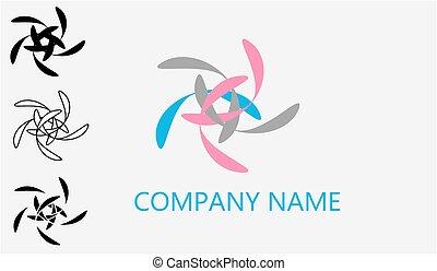 Web logo vector II