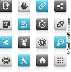 Web & Mobile Icons 10- Matte Series