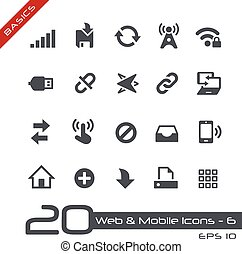 Web & Mobile Icons-6 // Basics