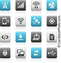 Web & Mobile Icons 6 - Matte Series
