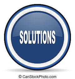 web, moderno, elemento, disegno, soluzioni, icona, rotondo, lucido