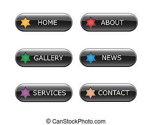 Web Navigation Buttons
