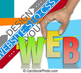 Web network concept