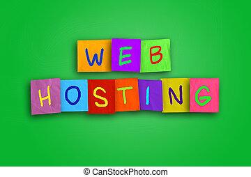 web ofrecer, internet, concepto