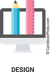 web ontwerp, pictogram