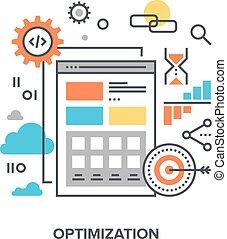 web optimization concept