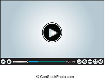 Web or Internet based Video Player