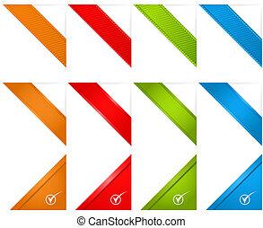 Web Page Corner Ribbons