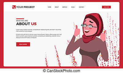 Web Page Design . Business Reality. Site Scheme Template. Cartoon Person. Invest Conference. Illustration