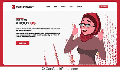Web Page Design Vector. Business Reality. Site Scheme Template. Cartoon Person. Invest Conference. Illustration