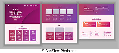 Web Page Design . Website Business Style. Front End Site Scheme. Landing Template. Benefits Scheme. Interface Menu. Card Credit. Illustration