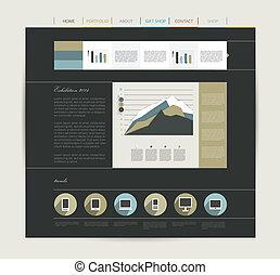 Web page visual.