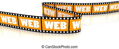 web, parola, film, zigzag