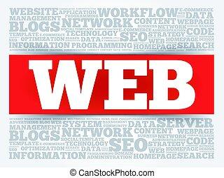 web, parola, nuvola