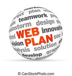 web, plan