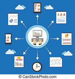 web, programmering, analytics