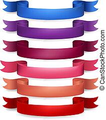 Web Ribbons Big Set