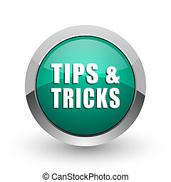 web, ronde, tips, chroom, trucs, metalen, achtergrond., ontwerp, internet, groene, schaduw, witte , zilver, pictogram