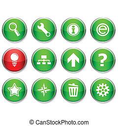 web round icons.
