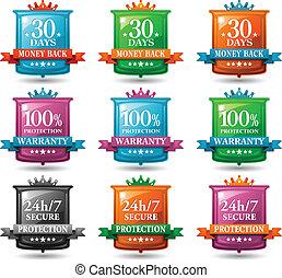 web satisfaction guarantee badges - web satisfaction...