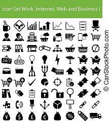 web, satz, arbeit, geschaeftswelt, internet, ikone