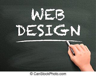 web, scritto, disegno, parole, mano