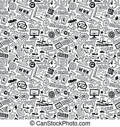 Web - seamless background